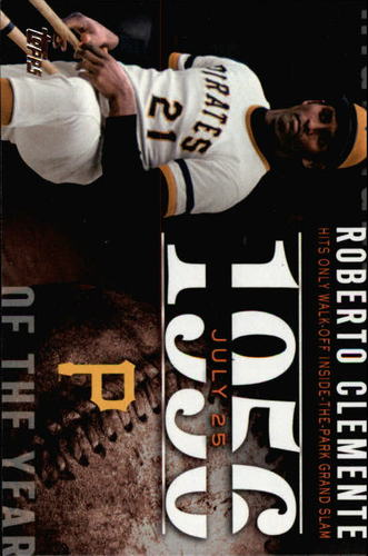 Photo of 2015 Topps Highlight of the Year #H44 Roberto Clemente