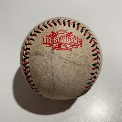 Photo of 2015 All Star Game - Game Used Baseball - Batter: DJ LeMahieu Pitcher: Chris Archer - Foul Ball