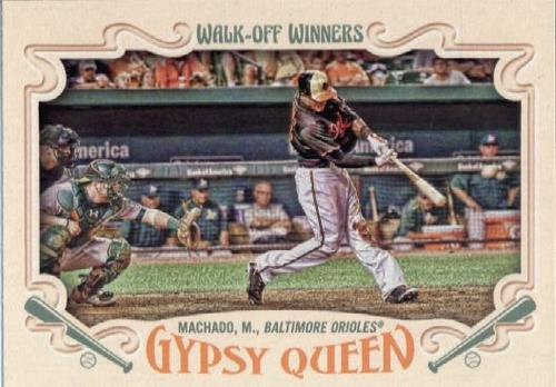 Photo of 2016 Topps Gypsy Queen Walk Off Winners #GWO2 Manny Machado