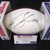 NFL - Ravens Brandon Williams Signed Authentic Football