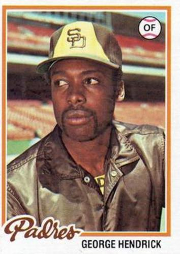 Photo of 1978 Topps #30 George Hendrick