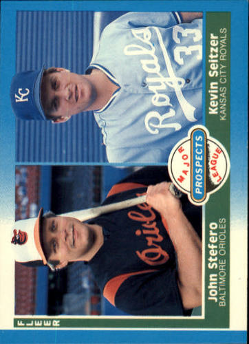Photo of 1987 Fleer #652 John Stefero/Kevin Seitzer RC