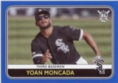 Photo of 2020 Topps Big League Blue #225 Yoan Moncada
