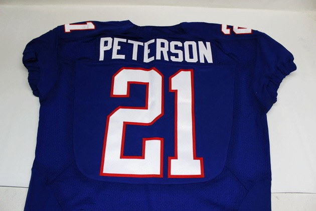 hot sale online f121d 21255 NFL Auction | CARDINALS - PATRICK PETERSON GAME USED AND ...