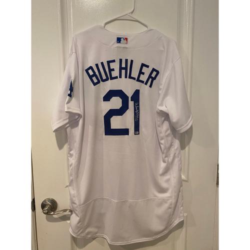 Walker Buehler Authentic Autographed Los Angeles Dodgers Jersey