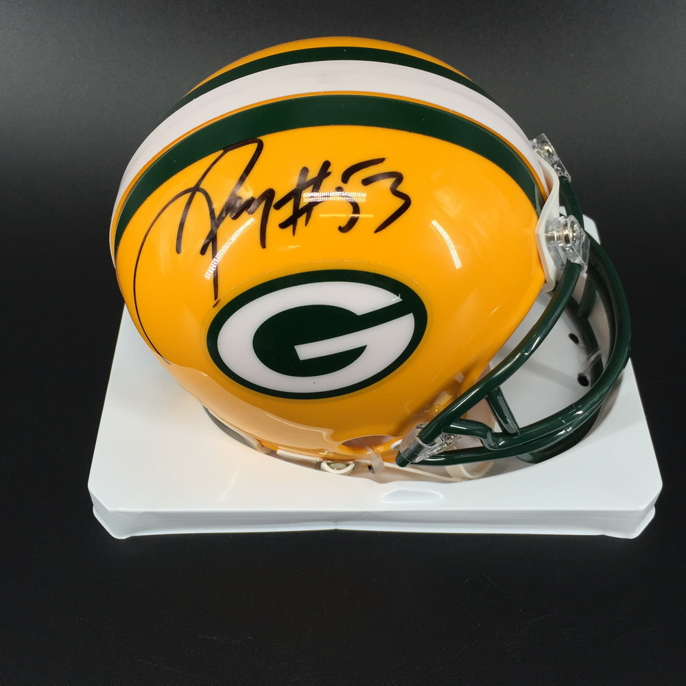 PCF - Packers Nick Perry Signed Mini Helmet