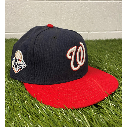 Photo of Anthony Rendon Game-Used 2019 World Series Hat