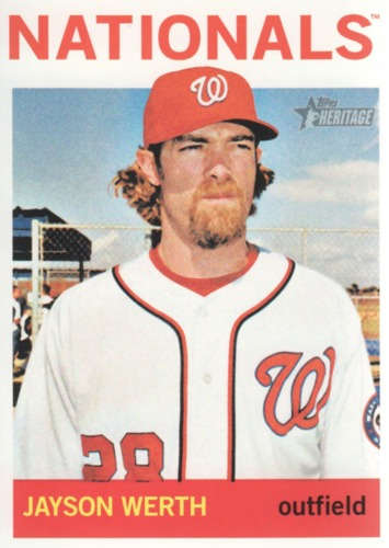Photo of 2013 Topps Heritage #52 Jayson Werth