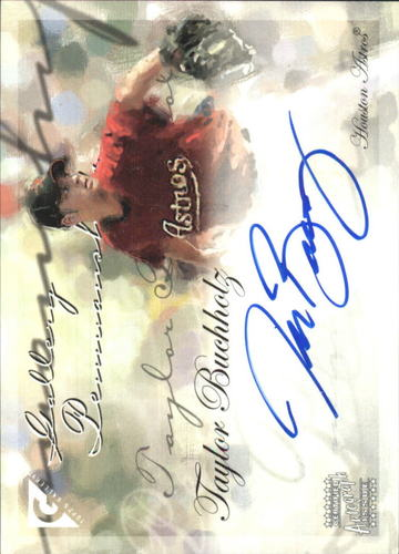 Photo of 2005 Topps Gallery Penmanship Autographs #TB Taylor Buchholz E