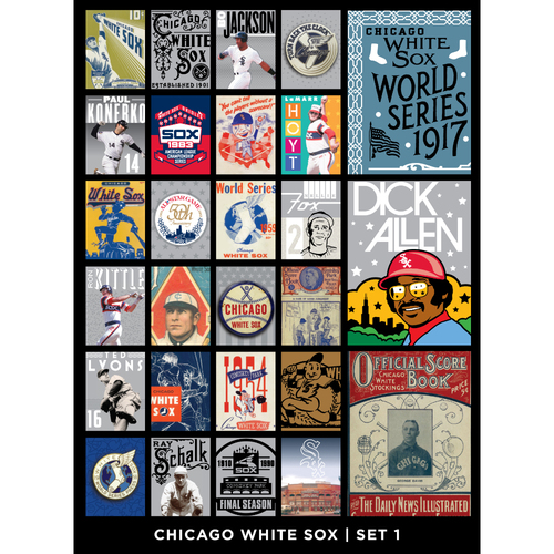 Chicago White Sox Notecards - Set 1