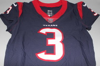 CRUCIAL CATCH - TEXANS TOM SAVAGE GAME WORN AND SIGNED TEXANS JERSEY (OCTOBER 8, 2017)