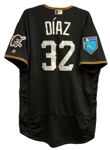 Photo of Elias Diaz Game-Used 2018 Spring Training Jersey