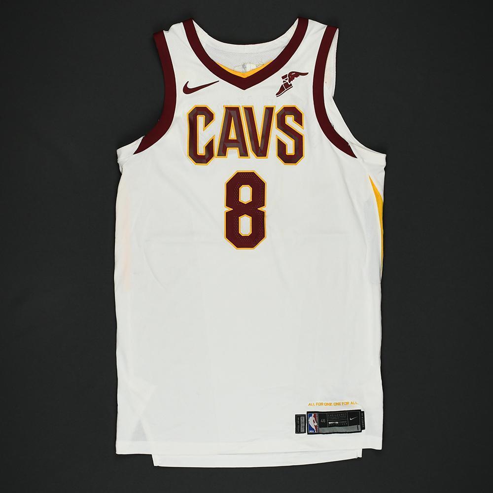 pretty nice 60677 cd803 Jordan Clarkson - Cleveland Cavaliers - 2018 NBA Finals ...