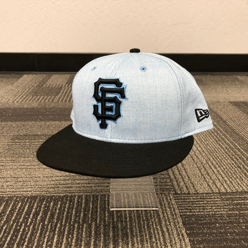Photo of San Francisco Giants - 2018 Game Used Father's Day Cap - worn by #41 Mark Melancon - size 7 1/4
