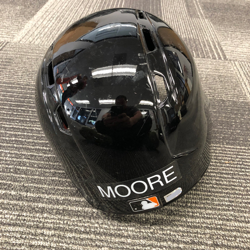 Photo of 2017 Spring Training Batting Helmet - #45 Matt Moore - Size 7 1/2