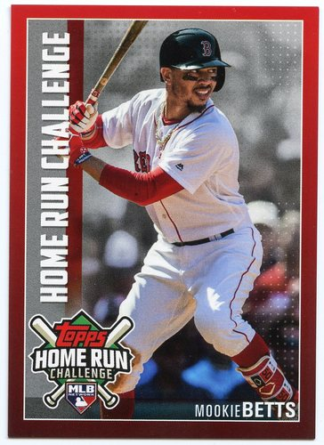Photo of 2019 Topps Home Run Challenge #HRC11 Mookie Betts