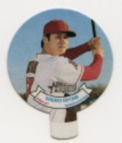 Photo of 2019 Topps Heritage '70 Topps Candy Lids #17 Shohei Ohtani