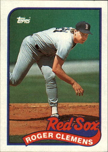 Photo of 1989 Topps #450 Roger Clemens