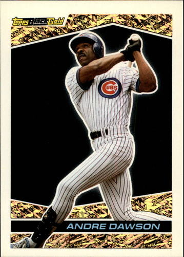 Photo of 1993 Topps Black Gold #4 Andre Dawson