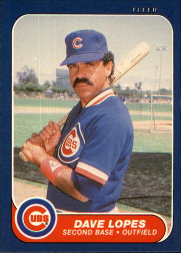 Photo of 1986 Fleer #372 Dave Lopes