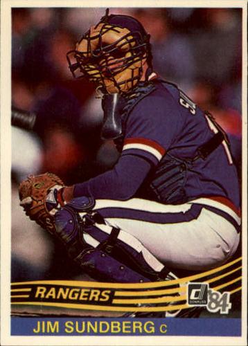 Photo of 1984 Donruss #178 Jim Sundberg