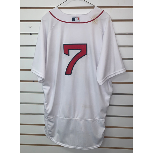 Photo of Christian Vazquez Team Issued 2019 Home Jersey