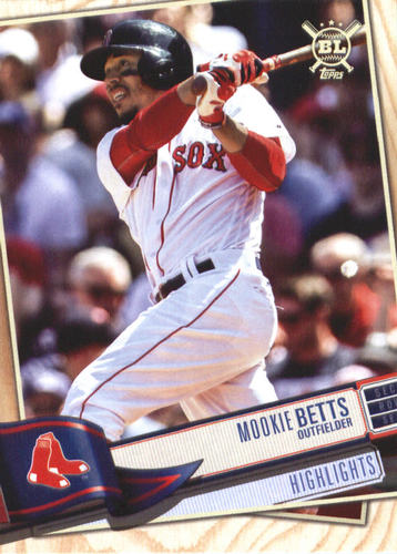 Photo of 2019 Topps Big League #389 Mookie Betts