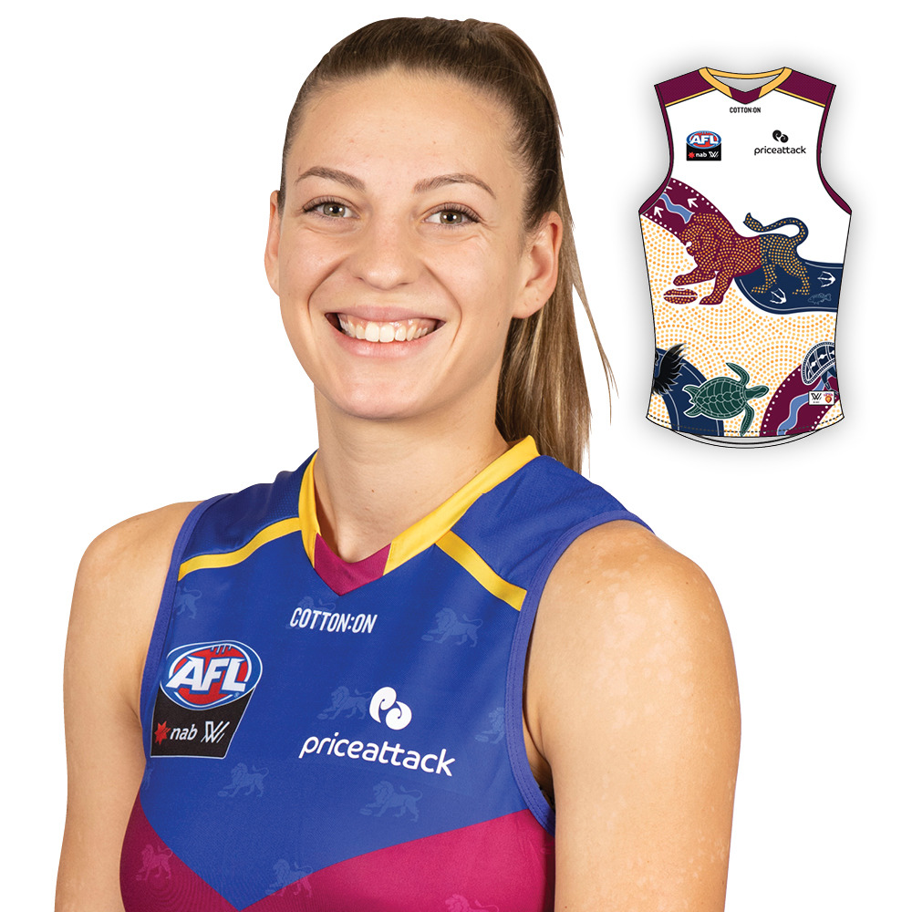 2021 AFLW Indigenous Guernsey - Tahlia Hickie