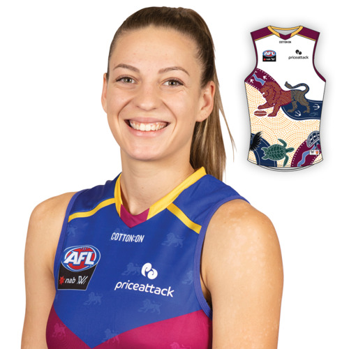 Photo of 2021 AFLW Indigenous Guernsey - Tahlia Hickie