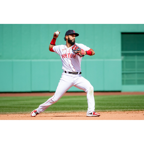 Photo of Red Sox Foundation Patriots' Day - Marwin Gonzalez Authenticated Game-Used Jersey