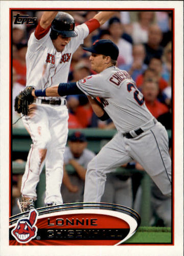 Photo of 2012 Topps #603 Lonnie Chisenhall