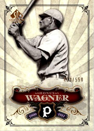 Photo of 2006 SP Legendary Cuts #186 Honus Wagner