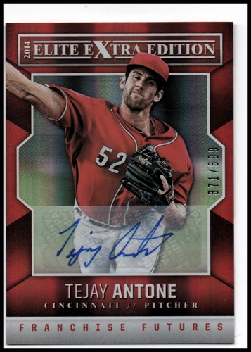 Photo of 2014 Elite Extra Edition Franchise Futures Signatures #33 Tejay Antone/699