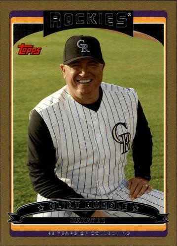 Photo of 2006 Topps Gold #274 Clint Hurdle MG