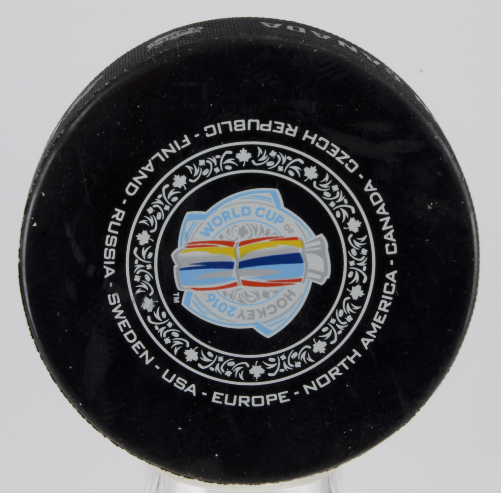 Team Canada vs. Team Europe World Cup of Hockey 2016 Warm-Up Puck From September 29th Finals Game 2