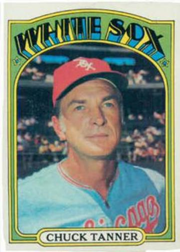 Photo of 1972 Topps #98 Chuck Tanner MG