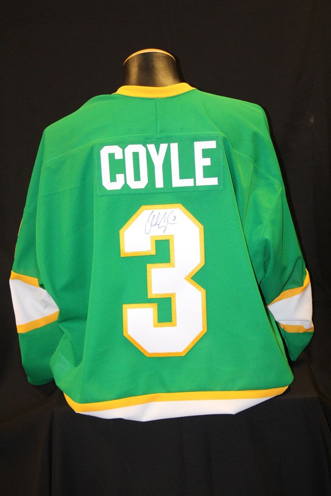 MN Wild #3  Charlie Coyle Signed, Player Worn Northstars Jersey