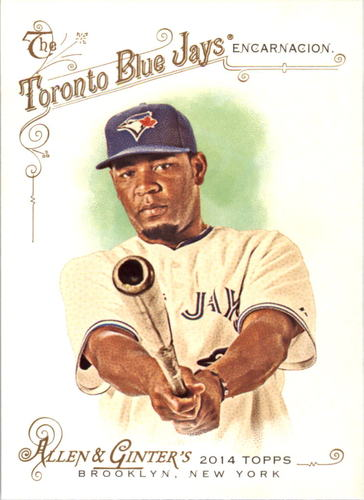 Photo of 2014 Topps Allen and Ginter #4 Edwin Encarnacion