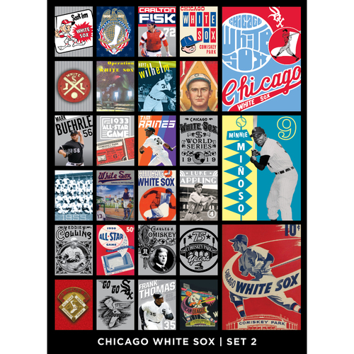 Chicago White Sox Notecards - Set 2