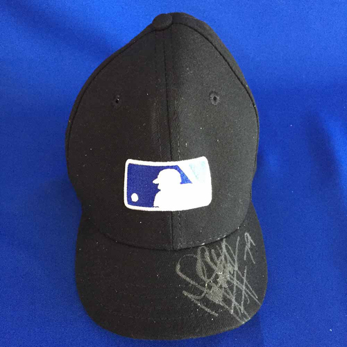 Photo of UMPS CARE AUCTION: Manny Gonzalez Signed Father's Day Plate Cap - Size 7 3/8 - Not MLB Authenticated