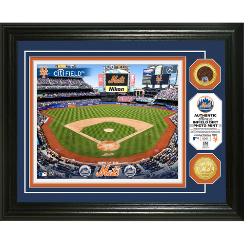 Photo of New York Mets Dirt Coin Photo Mint