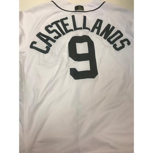 Photo of Game-Used Nicholas Castellanos Memorial Day Jersey