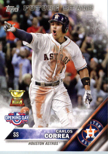 Photo of 2016 Topps Opening Day #OD58A Carlos Correa