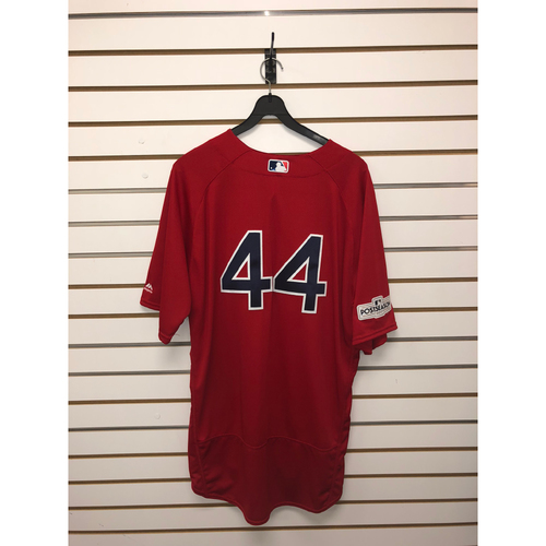 Photo of Chili Davis Team-Issued 2017 Home Alternate Jersey