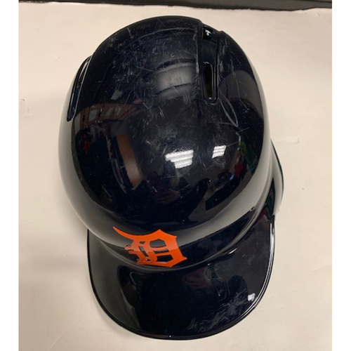 Photo of Game-Used Road Helmet: Victor Reyes