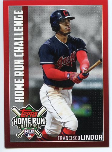 Photo of 2019 Topps Home Run Challenge #HRC15 Francisco Lindor