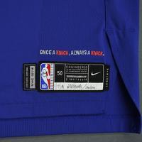 Mario Hezonja - New York Knicks - 2018-19 Season - London Games - Game-Worn 1st Half Blue Icon Edition Jersey