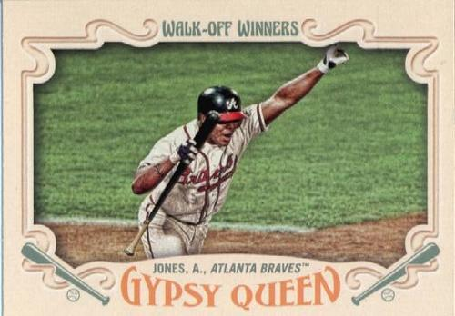 Photo of 2016 Topps Gypsy Queen Walk Off Winners #GWO3 Andruw Jones