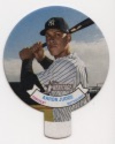 Photo of 2019 Topps Heritage '70 Topps Candy Lids #18 Aaron Judge