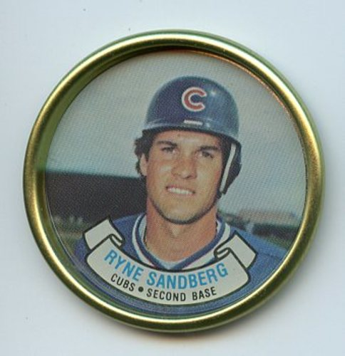 Photo of 1987 Topps Coins #41 Ryne Sandberg